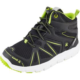 Kamik Kids Fury Hi GTX Shoes Black/Lime-Noir/Lime